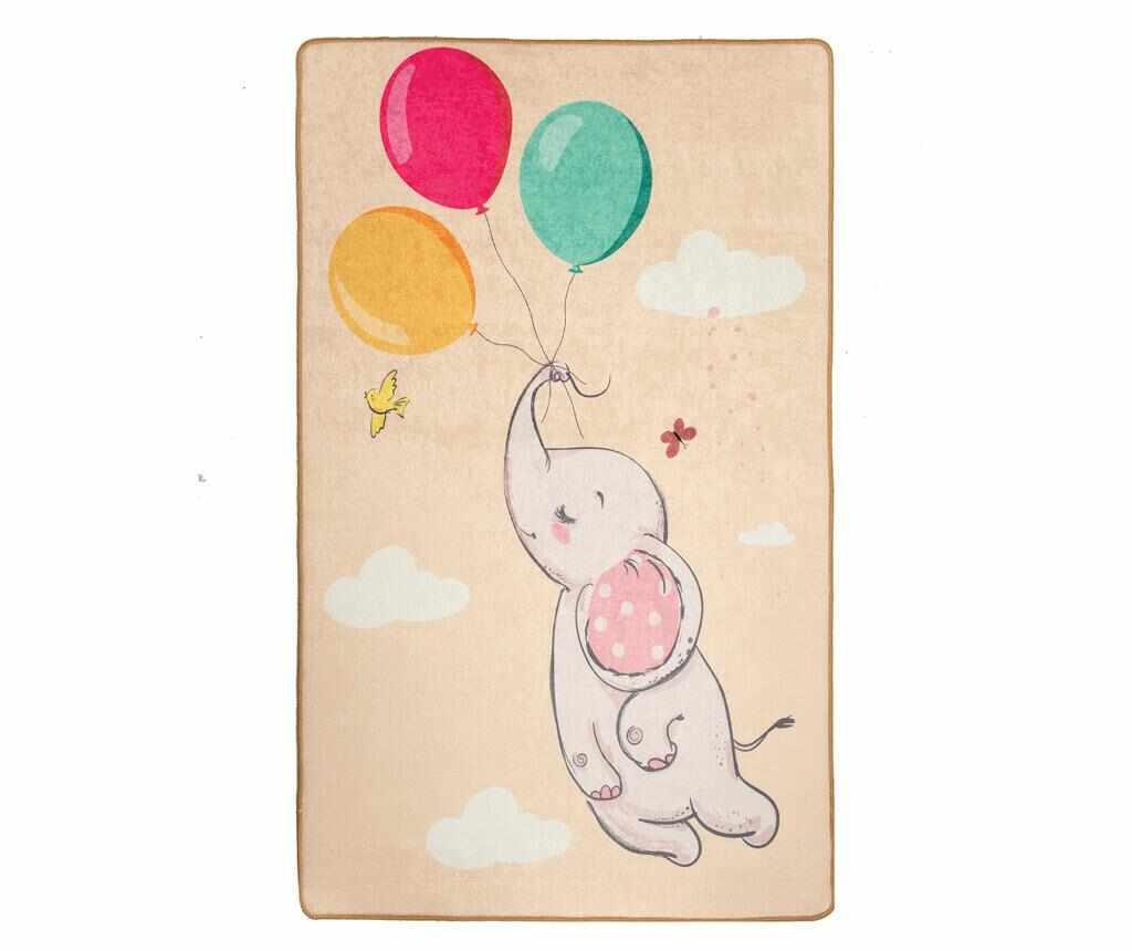 Covor Elephant Baloon Brown 140x190 cm la pret 219.99 lei