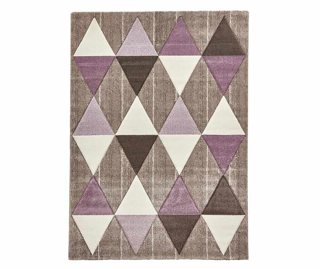 Covor Brooklyn Beige Purple 120x170 cm