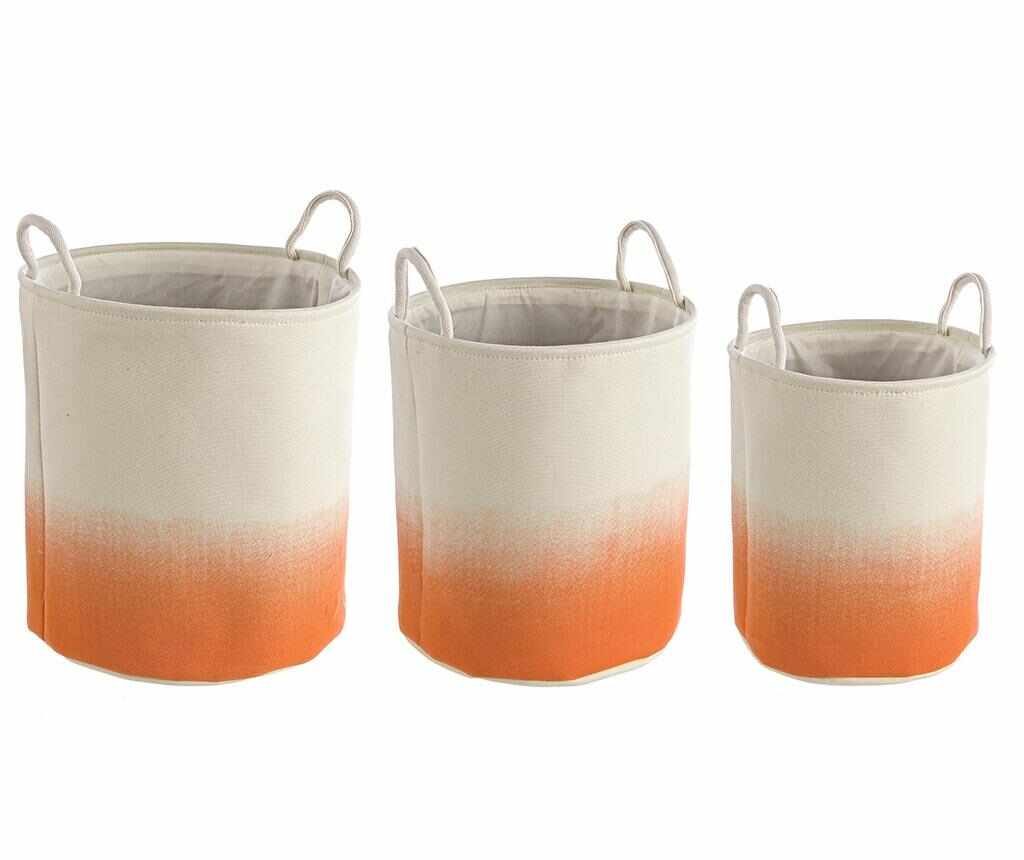 Set 3 cosuri Shadow Round Orange la pret 199.99 lei