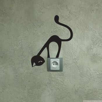 Autocolant Ambiance Funny Cat