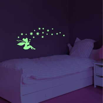Autocolant fosforescent Ambiance Fairy And The Stars la pret 113 lei