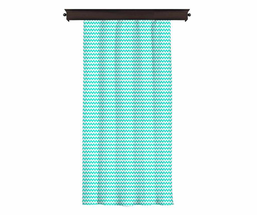 Draperie Border Turquoise 140x260 cm la pret 179.99 lei