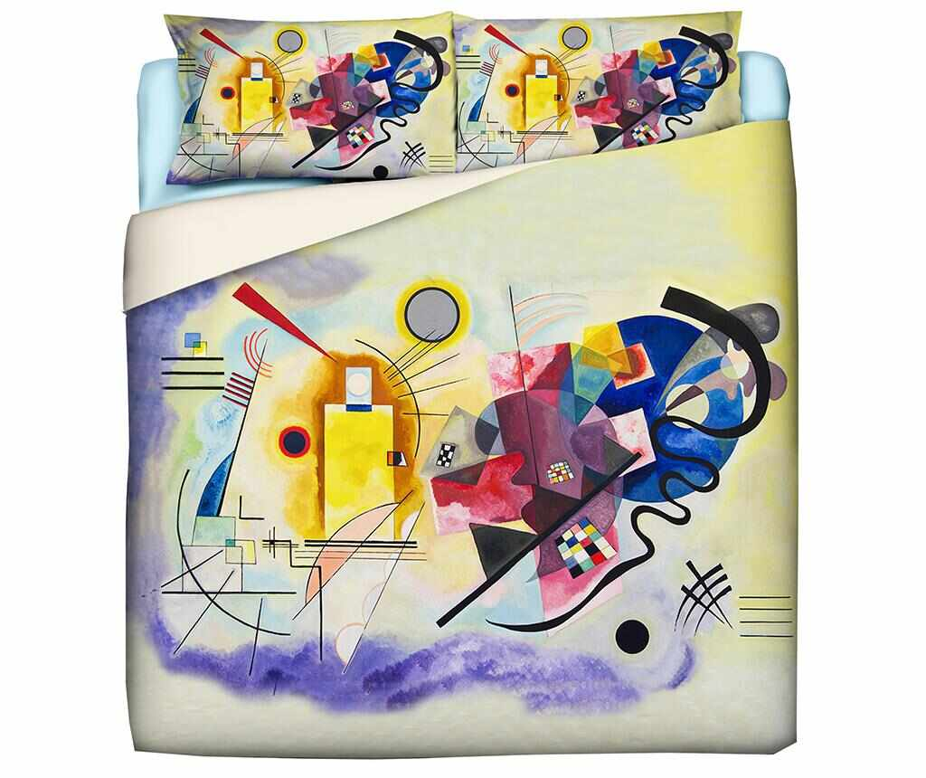 Set de pat King Ranforce Kandinsky la pret 314.99 lei