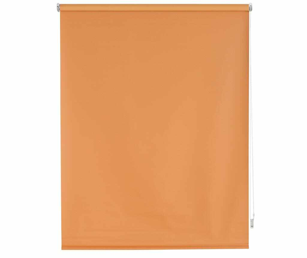 Jaluzea tip rulou Blackout Orange 120x175 cm
