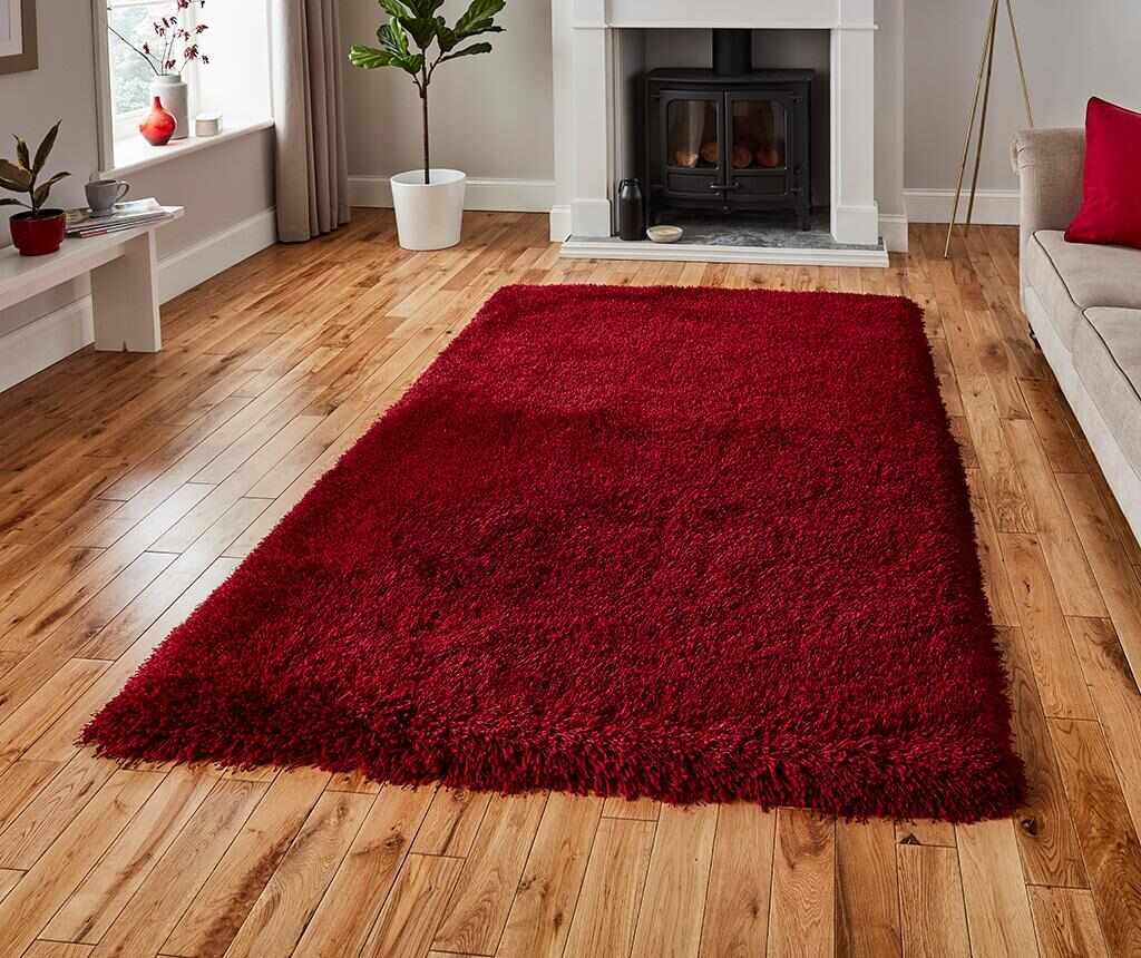 Covor Montana Dark Red 200x290 cm