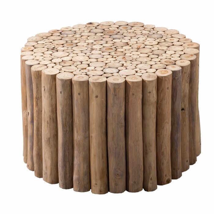 Masa de cafea Newell, lemn masiv, 41 x 80 x 80 cm la pret 870 lei