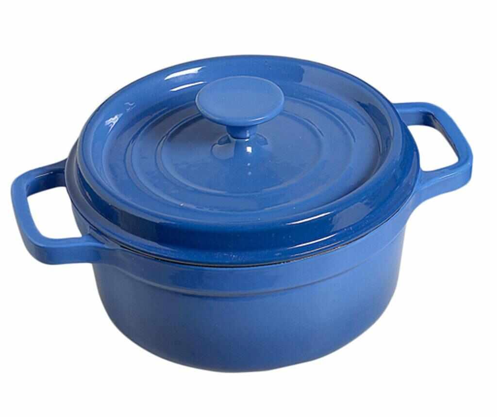 Oala cu capac Bergerac Blue 20 cm la pret 179.99 lei