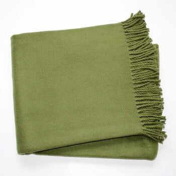 Pled din amestec de bumbac Euromant Basics, 140 x 180 cm, verde la pret 214 lei