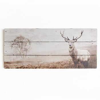 Tablou lemn Graham & Brown Stag, 70 x 30 cm la pret 211 lei