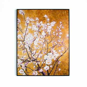 Tablou pictat manual Graham & Brown Blossom, 70 x 90 cm la pret 621 lei