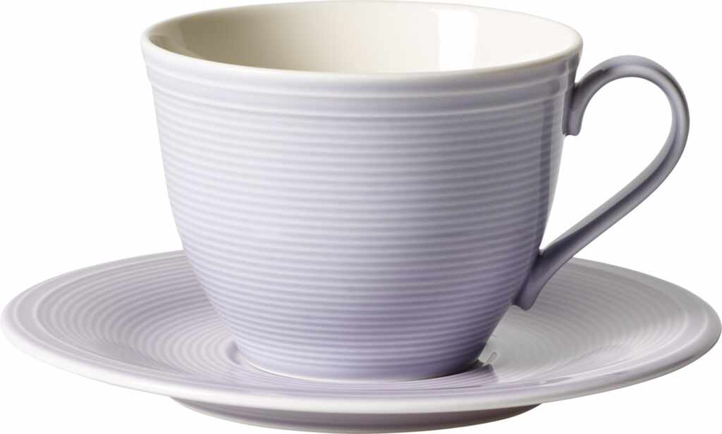 Ceasca si farfuriuta cafea like. By Villeroy & Boch Color Loop Blueblossom 0.25 litri