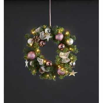 Coroniță cu LED Best Season Noel, ⌀ 40 cm la pret 152 lei