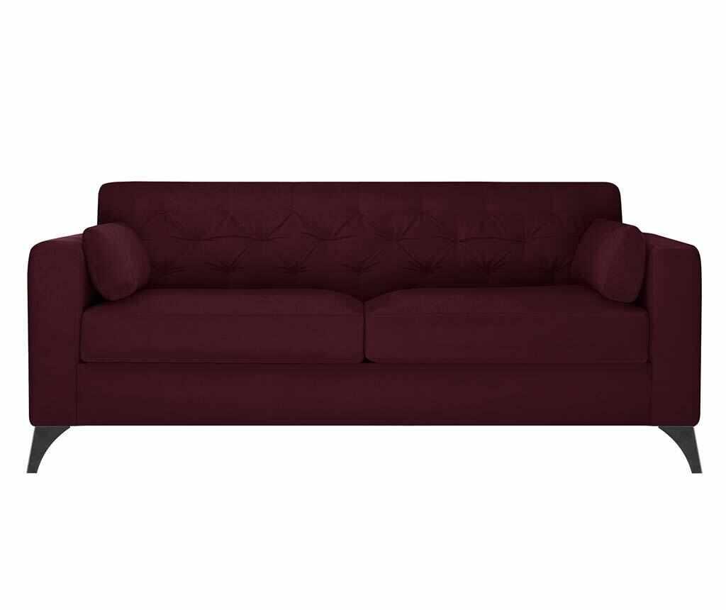 Canapea 3 locuri Vanity Crimson la pret 2999.99 lei