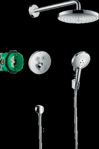Sistem de dus termostat Hansgrohe Raindance Select S la pret 4999 lei