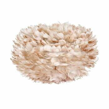 Abajur cu pene de gâscă VITA Copenhagen EOS, Ø 45 cm, crem la pret 681 lei