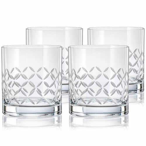 Crystalex CXBR778 Set 4 pahare de whisky, 280 ml la pret 99.99 lei