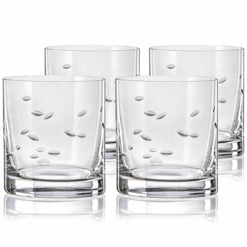 Crystalex CXBR083 Set 4 pahare de whisky, 280 ml la pret 101.99 lei