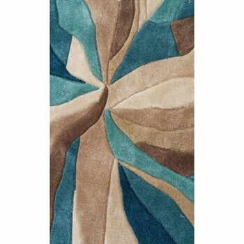 Covor Flair Rugs Splinter Teal, 160 x 220 cm la pret 863 lei