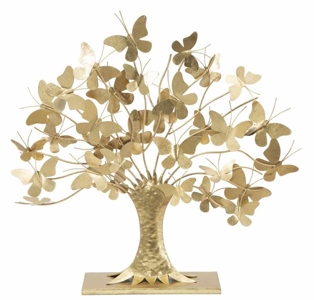 Decoratiune de masa Gold Tree 66x16x63cm la pret 379 lei