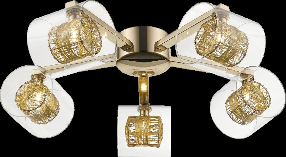 Plafoniera KLASS auriu H17xD57 cm la pret 1449 lei