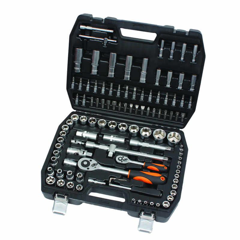 Set chei tubulare Cr-V Gadget, 1/2-1/4 inch, cutie depozitare inclusa, 108 piese la pret 313 lei