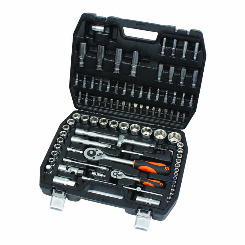 Set chei tubulare Cr-V Gadget, 1/2-1/4 inch, cutie depozitare inclusa, 94 piese la pret 315 lei