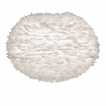 Abajur cu pene de gâscă VITA Copenhagen EOS, Ø 65 cm, alb la pret 1456 lei