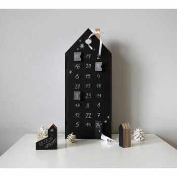 Calendar advent tablă de scris Unlimited Design for kids la pret 197 lei