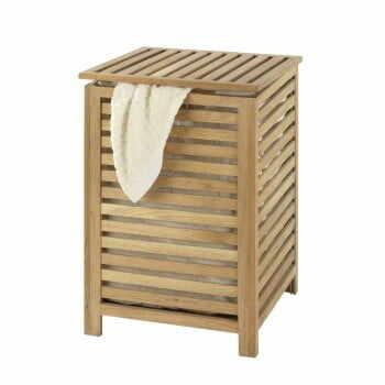 Coș din lemn pentru haine Wenko Laundry Bin Norway la pret 366 lei