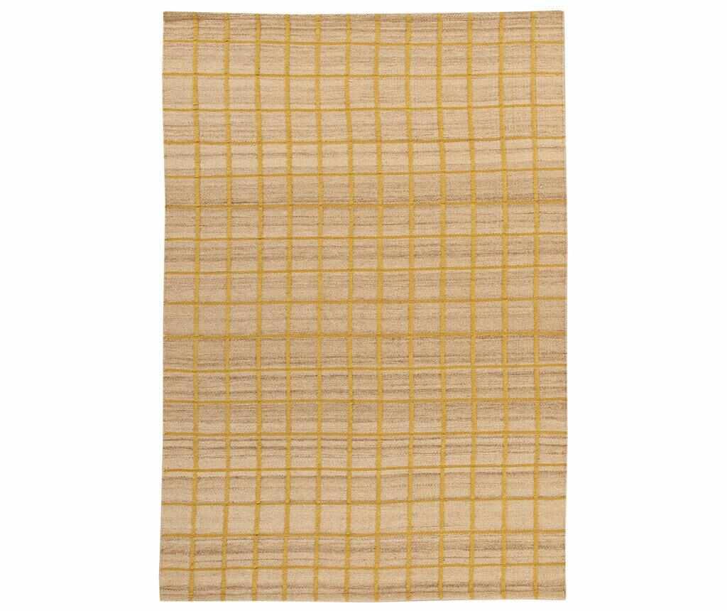 Covor Kilim Box Gold 100x160 cm la pret 179.99 lei