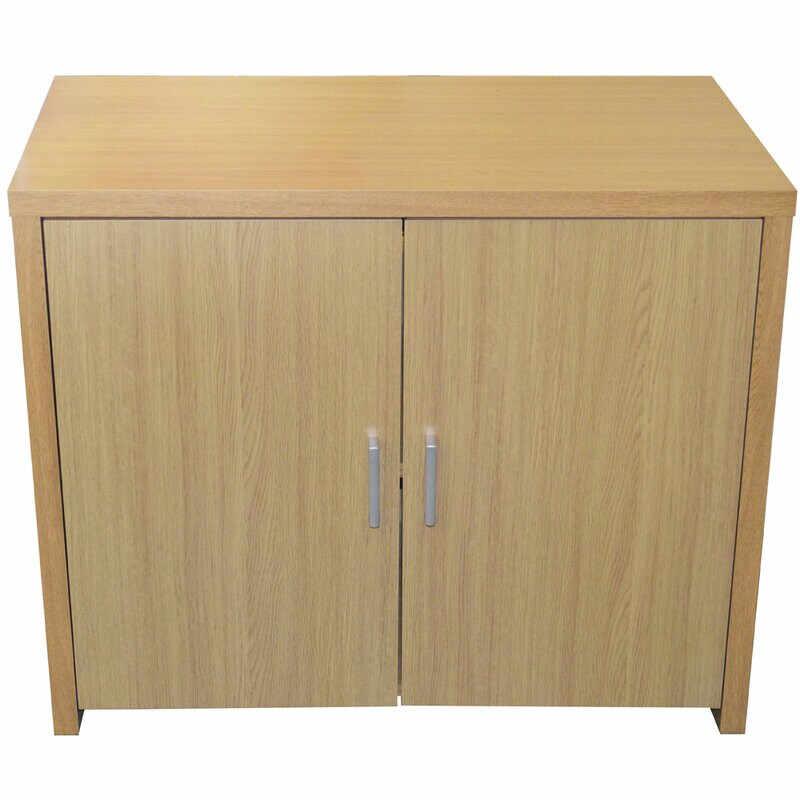 Dulap de depozitare cu 2 uși, PAL, MDF, 72cm H x 87,5cm W x 48cm D la pret 785 lei