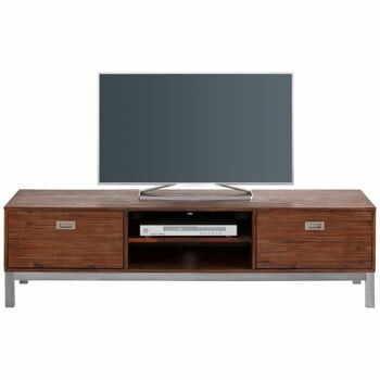 Comodă TV din lemn masiv de salcâm Støraa Congo la pret 2196 lei
