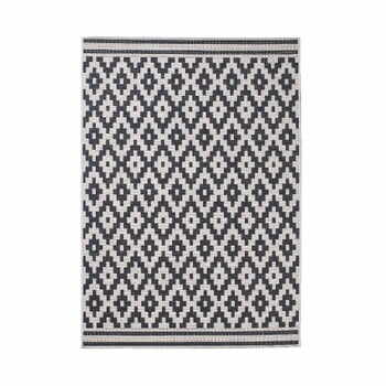 Covor Think Rugs Cottage, 160 x 220 cm, antracit la pret 382 lei