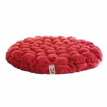 Pernă relaxare cu bile de masaj Linda Vrňáková Bloom, Ø 75 cm, roșu la pret 1097 lei