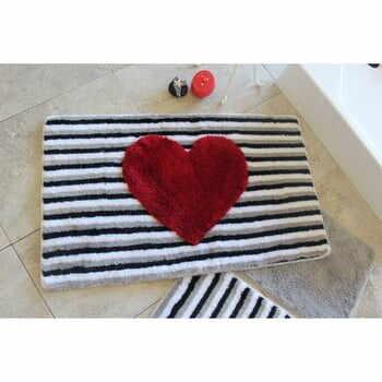 Set 3 covorașe de baie Confetti Bathmats Heart la pret 224 lei