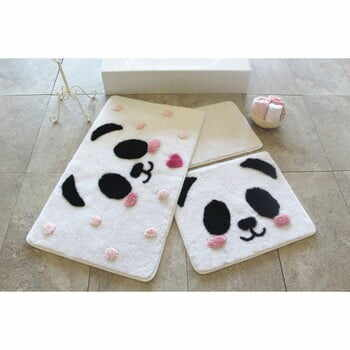 Set 3 covorașe de baie Confetti Bathmats Panda la pret 224 lei
