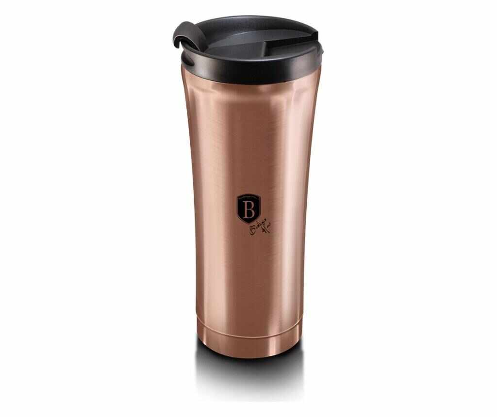 Cana cafea Metallic Line- Rose Gold