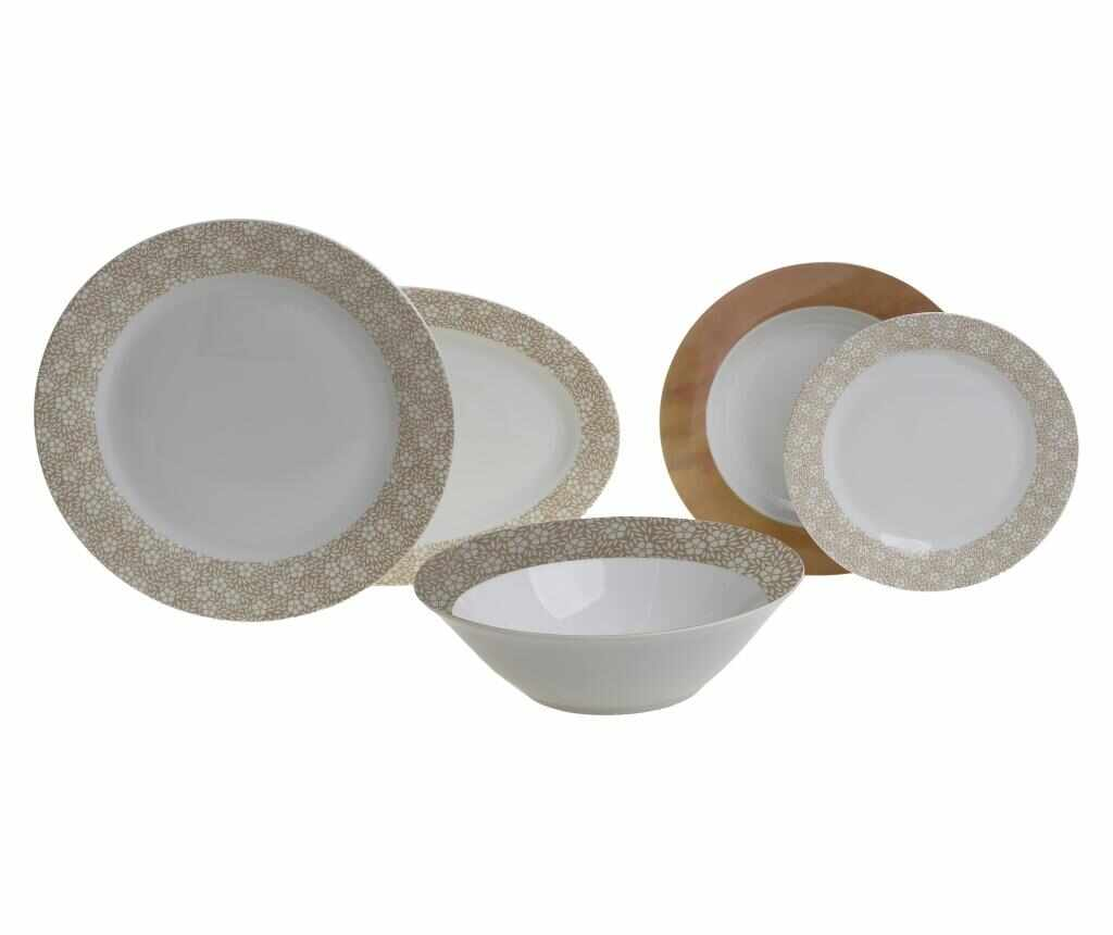 Set de masa 20 bucati Dine Brown