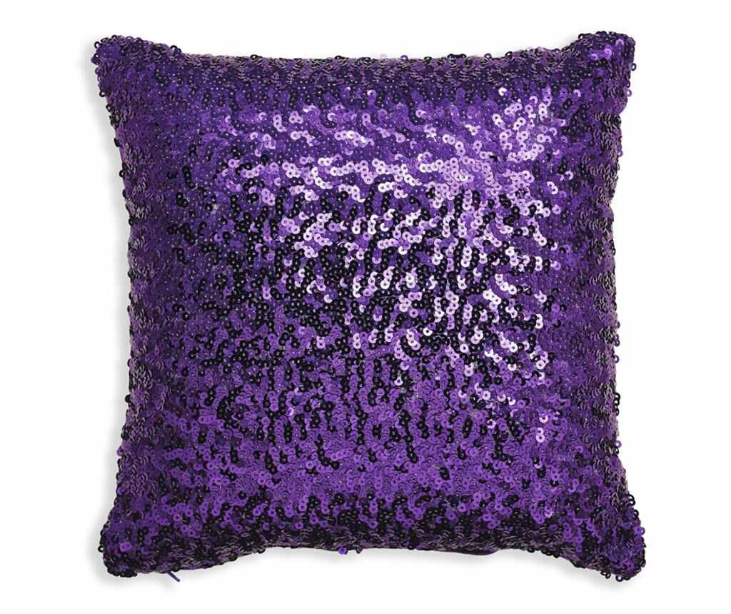Perna decorativa Purple Glam Sequin 30x30 cm