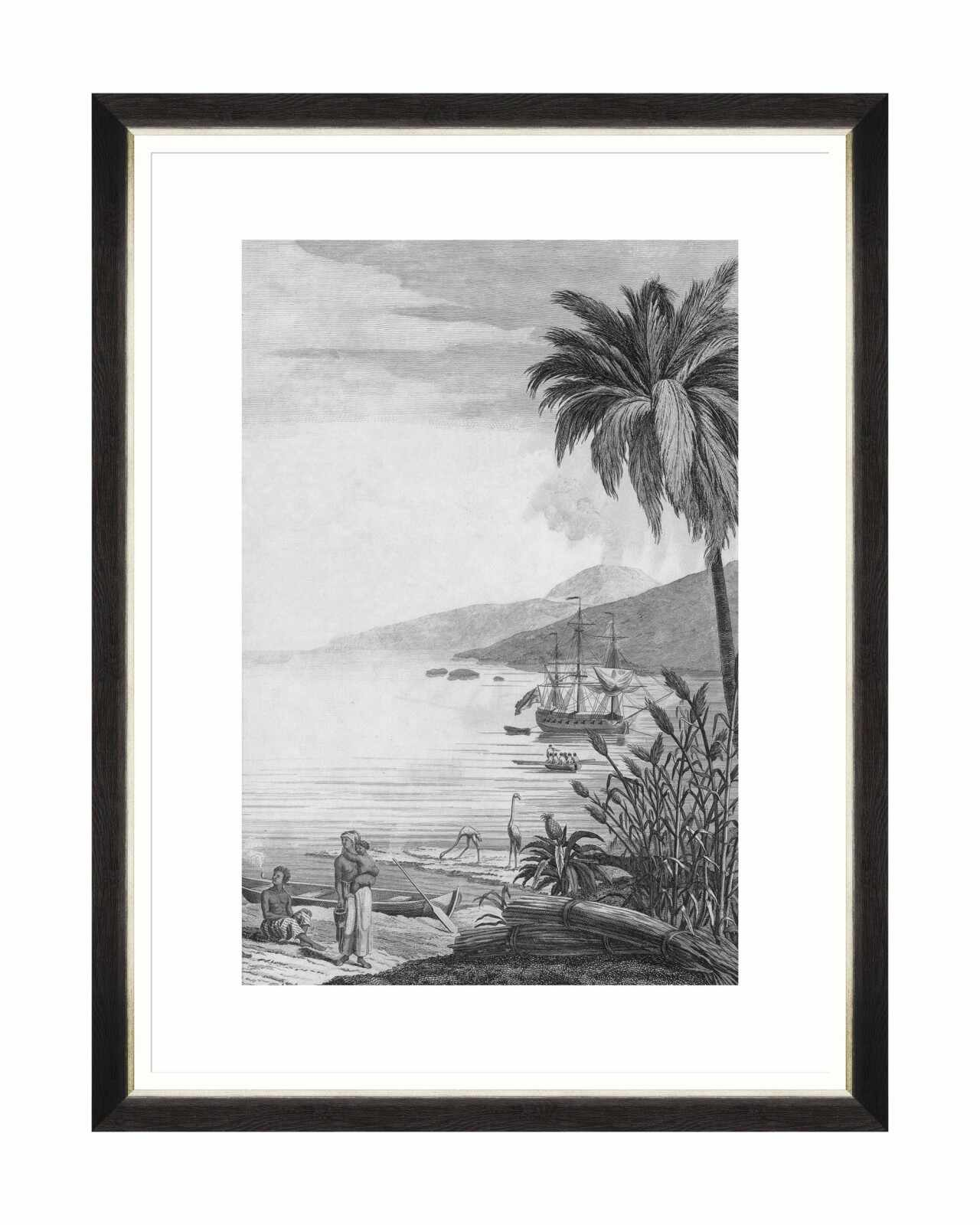 Tablou Framed Art Colonial Port II, 60 x 80 cm