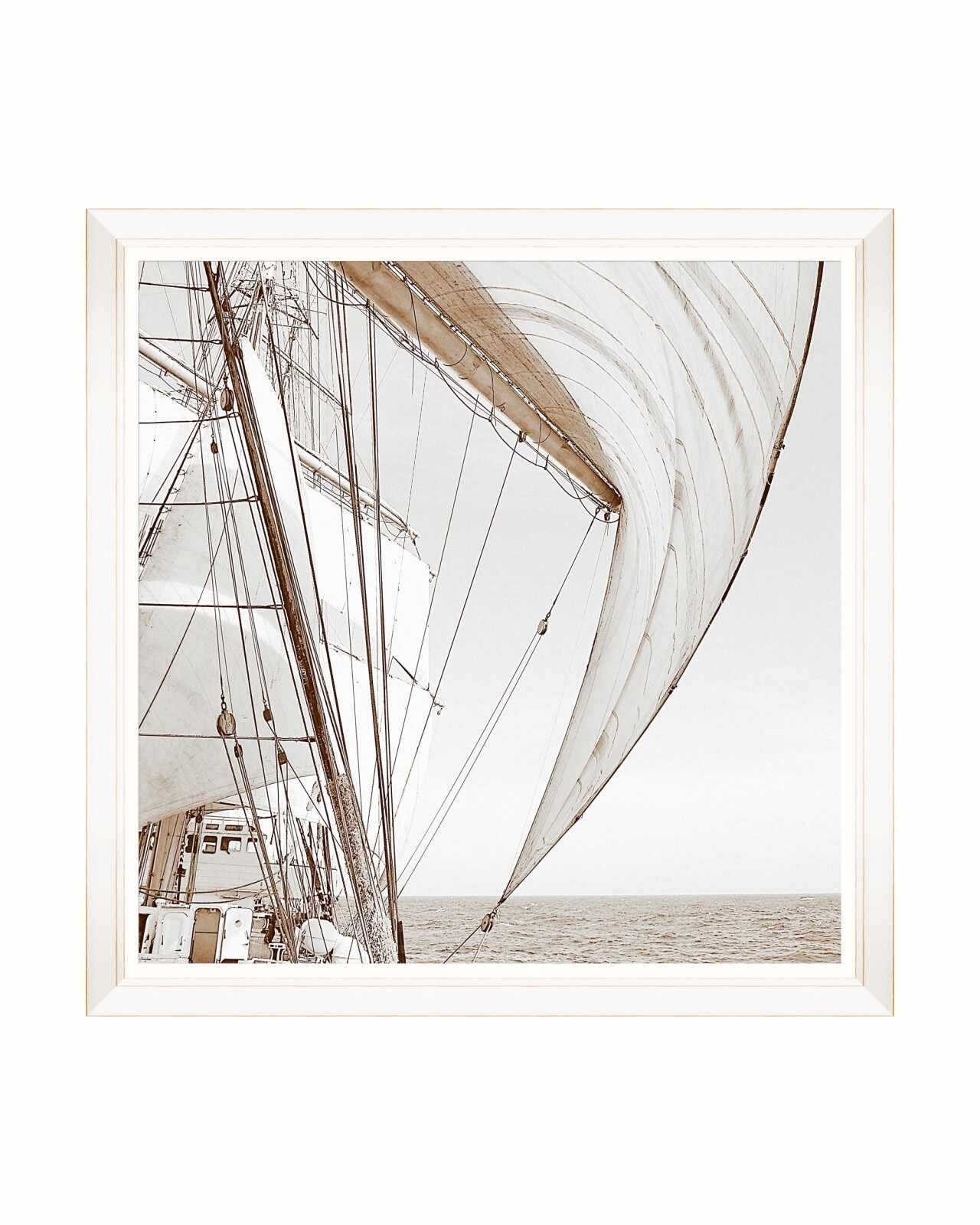Tablou Framed Art Sailing High I, 80 x 80 cm