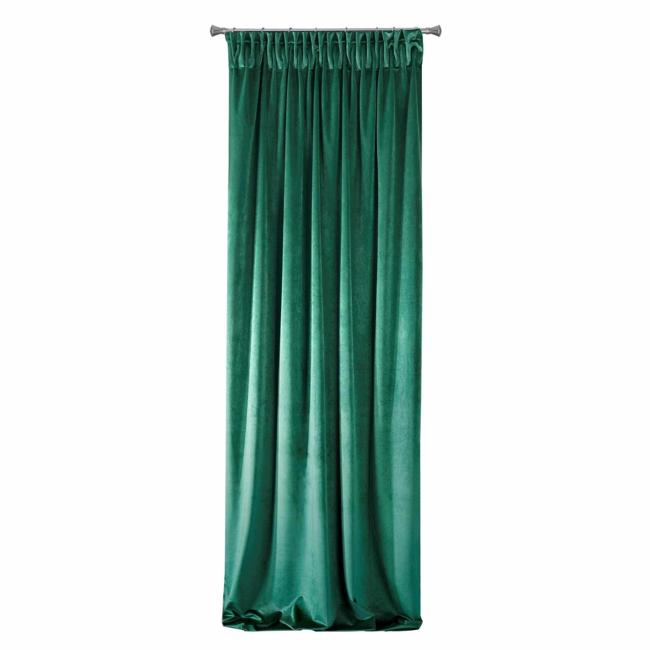 Draperie VILLA Verde inchis 140 X 270 cm la pret 230 lei