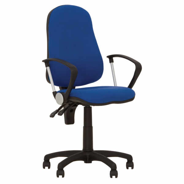 Scaun de birou OFFICE GTP, Albastru safir stofa zesta la pret 788.16 lei