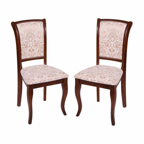 Set 2 scaune UNO, Lemn, Nut Regent 02 la pret 848.26 lei