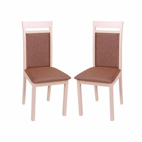 Set 2 scaune Wooden 2, Lemn, Beige Veles 15 la pret 691.4 lei