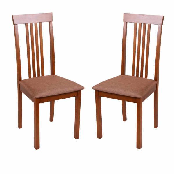 Set 2 scaune Wooden, Lemn, Walnut Veles 15 la pret 649 lei