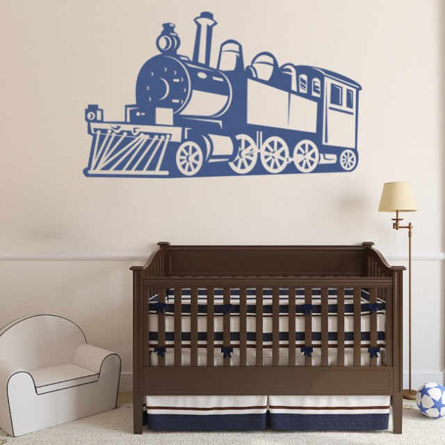 Sticker Steam Train Childrens la pret 41.9 lei