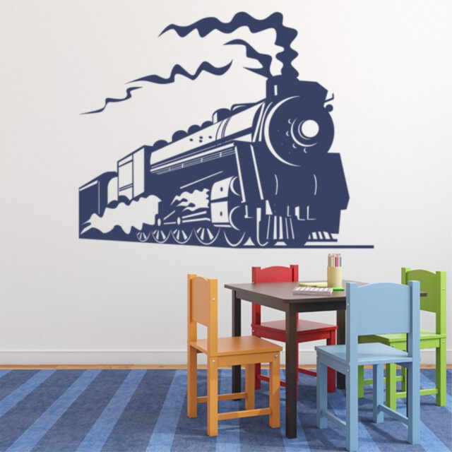 Sticker Steam Train Transport Trains la pret 43.9 lei