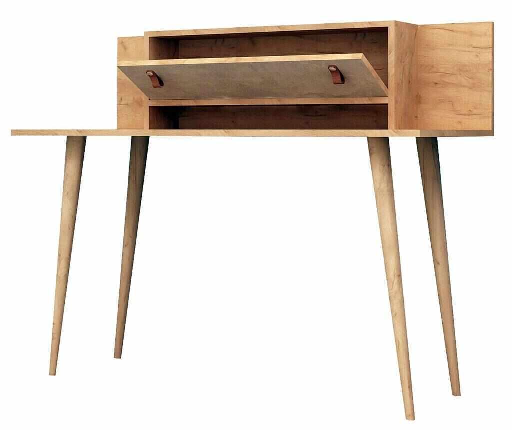 Birou Soojin - Mod Design, Gri & Argintiu la pret 769.99 lei