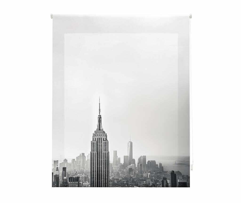 Jaluzea tip rulou New York 180x180 cm - Blindecor, Gri & Argintiu la pret 159.99 lei